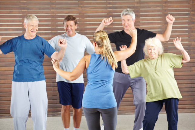 Energizing the Body Even in Old Age